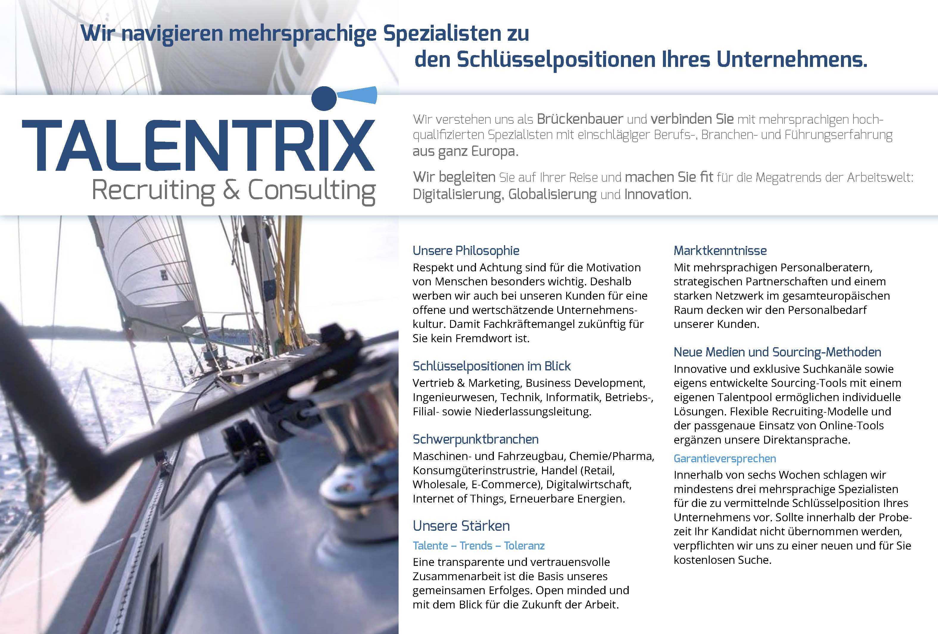 Talentrix – Recruiting & Consulting - Sonja Maksic